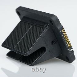 1987-2000, 2002 Honda CR 125 V-Force 3 Reed Cage/Block With Carbon Fiber Petals
