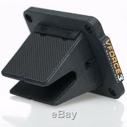1993-2018 Yamaha YZ80/85 V-Force 3 Reed Cage/Block With Carbon Fiber Petals