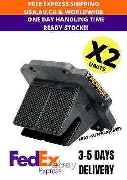2 X V Force 3 Reed Valve Cages Kawasaki KX125 KMX125 KX500 FREE SHIPPING