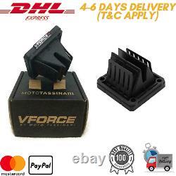 4 X Quality OEM Banshee V Force 4 Reed Valve Cage system VForce Yamaha YFZ 350