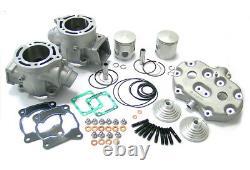 Athena big bore cylinder kit & MotoTassinari VForce4 reeds Yamaha 350 Banshee