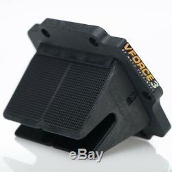 V-Force 3 Reed Cage/Block Carbon Fiber Petals Kawasaki KDX 200/220 83-06