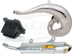 V-Force 3 Reed Valve + FMF Gnarly & Turbinecore 2 Exhaust YZ250X Pipe Silencer