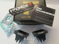 Yamaha YFZ350 Banshee VForce4R Reed Valve Blocks Moto Tassinari V4144-2 RD350LC