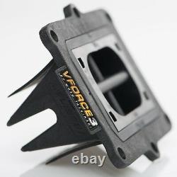 1986-01 Honda Cr500 V-force 3 Reed Cage Carbon Fiber Reeds Vforce Moto Tassanari