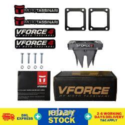 2 Paires (4 Pcs) Banshee V Force 4 Roseaux Cages Vforce Yamaha Yfz 350 Valve Quatre