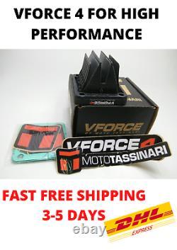 2x Vforce4 Moto Tassinari Cage Valve Pour Yamaha Haute Performance