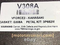 Moto Tassinari Vforce3 Système De Vanne À Rouleaux Kawasaki Kx250 1987-2004