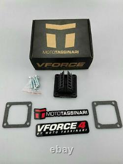 Nouveau Vforce 4 Reed Valves 2pcs Yamaha Rxz135 Dt175 Rd350 Banshee Yfz350