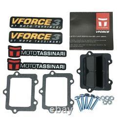 V-force3 Kit De Vanne En Rose S'adapte Yamaha Yz250 1997 1998 1999 2000 2001 2002 2003