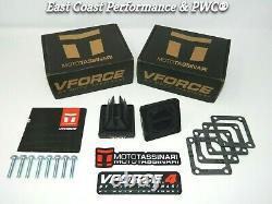 Yamaha Banshee 350 Vforce 4 Reed Valves Yfz350 V4 Reeds Cages V4144-2 Rd 350 400